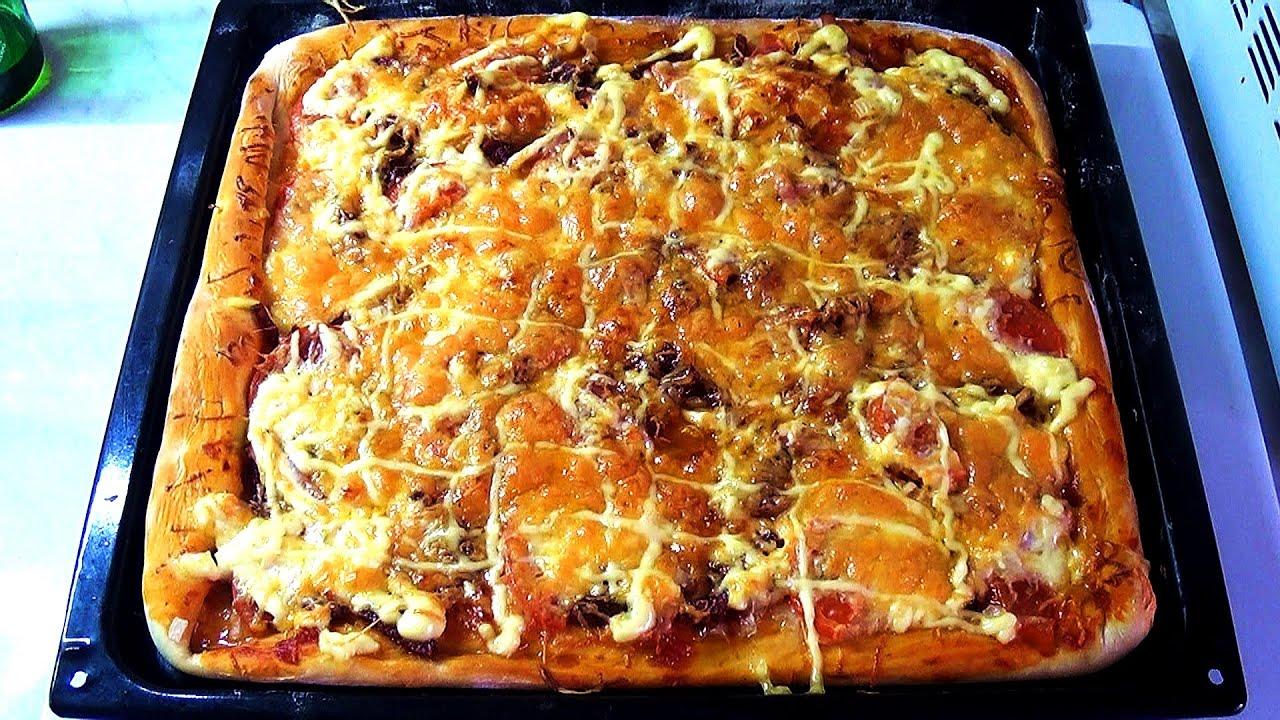 Дрожжевое сдобное тесто для пиццы (тонкая основа) - Дело Вкуса 14
