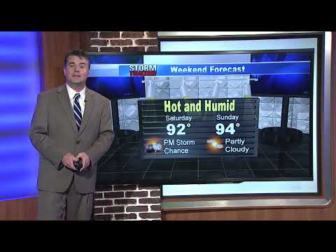Thursday pm weather 7/24/14