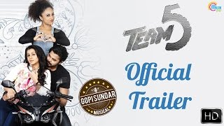 Team 5 Malayalam Movie | Trailer | Sreesanth, Nikki Galrani | Official