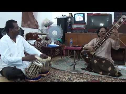 Yaad Mein Teri Jaag Jaag ke Humin sitar By Ustad Z.M.Saleemchennai...