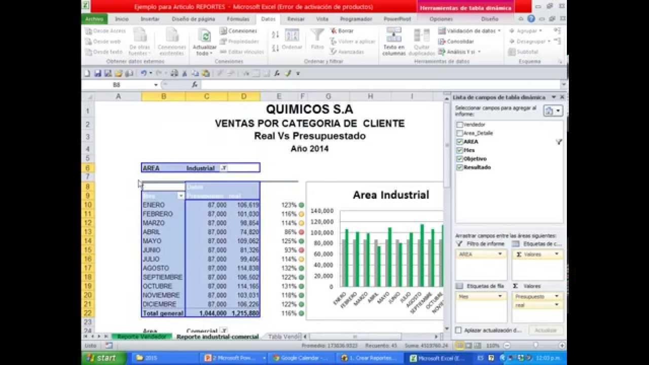 Pipeline Ventas Excel de Ventas Con Excel