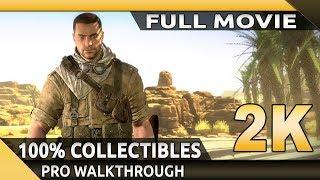 Sniper Elite 3 (PC) - Full Movie - Gameplay Walkthrough - 100% Collectibles [1440p 60fps]