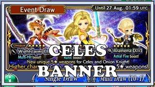 Celes Banner - Dissidia Final Fantasy Opera Omnia