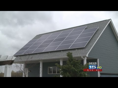 Energy-efficient home eliminates electric, gas bills
