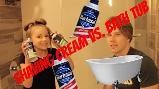 Hunter Hill: Filled my Bathtub With Shaving Cream w/ Piper Rockelle