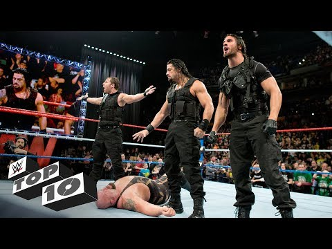 Moments after Raw went off the air - WWE Top 10