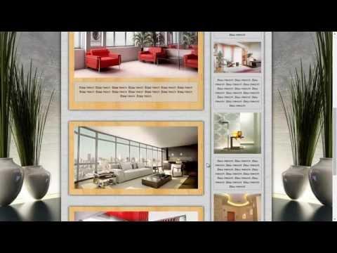 "Шаблон для дорвея, сайта ""interior"""