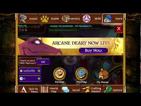 Arcane Legends Voice set team party in mausoleum 6 Obooo