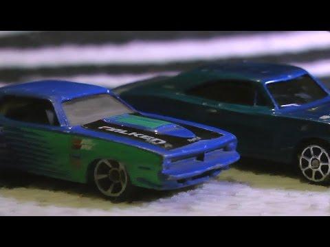 MONSTER TRUCKS VS Hot Wheels TOY CARS Traffic Jam!