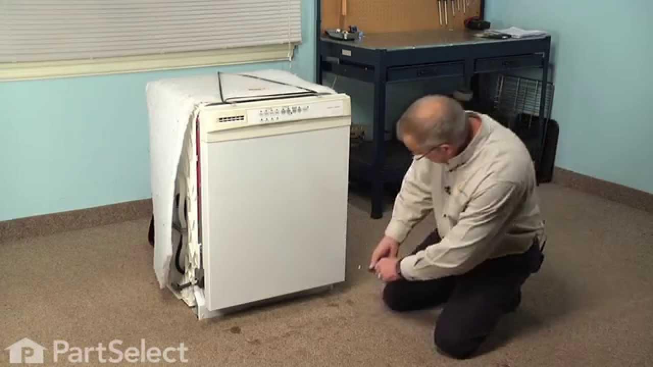 Dishwasher Repair Replacing The Drain Pump Whirlpool Part W10348269 Youtube