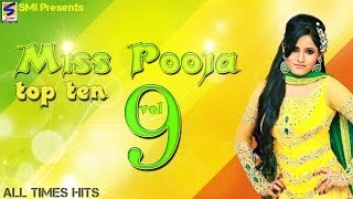 Miss Pooja Top 10 All Times Hits Vol 9 | Non-Stop HD Video | Punjabi New hit Song -2016