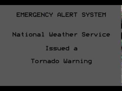 Tornado Warning Ransom & Richland, ND (8/6/13)