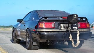MK3 Supra Goes 185MPH!! This thing is INSANE!