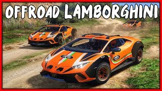 GTA 5 Roleplay - Lamborghini Sterrato Offroad Ride Out | RedlineRP #772