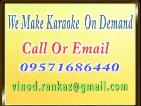 Mere Mehboob Na Jaa Aaj Ki Raat Na Jaa   Karaoke   Noor Mahal...