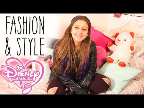 The Disney Channel Vlog #11 - Fashion & Style