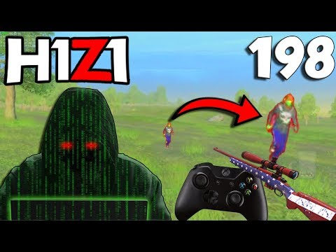 HACKER EVERYWHERE, FASTEST 2 TAP EVER, FIRST CONTROLLER QUICKSCOPE! H1Z1 - BEST ODDSHOTS #198