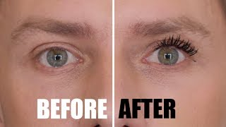 HOW TO GET HUGE LASHES - WHEN YOU DON'T HAVE THEM (NO FALSE LASHES USED) #AD