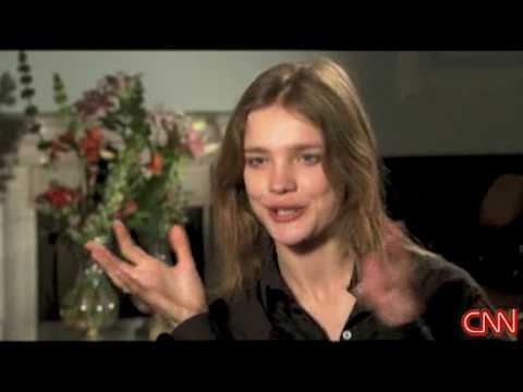 Natalia Vodianova on CNN - Part 2