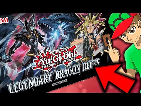 FINALMENTE!! YU-GI-OH LEGENDARY DRAGON DECKS UNBOXING !!