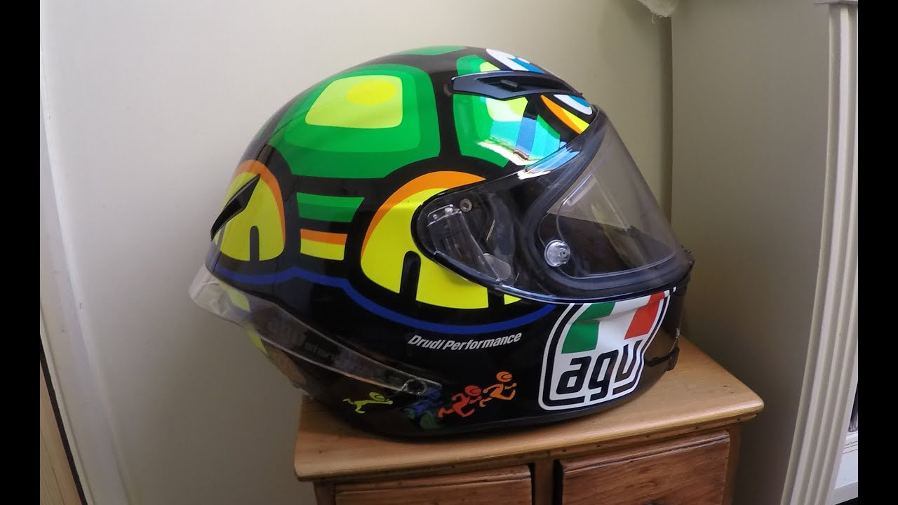 AGV Corsa Rossi Turtle Helmet Close Look Review
