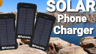 Patriot Power Cell Full Review: Solar Phone Charger
