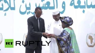 Rwanda: First African Union passports issued at Kigali summit