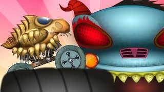 Home Alone | Haunted House Monster Truck Videos | Cartoon Shows by Kids Channel