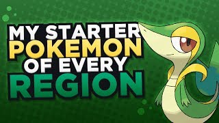 My Starter of Every Region