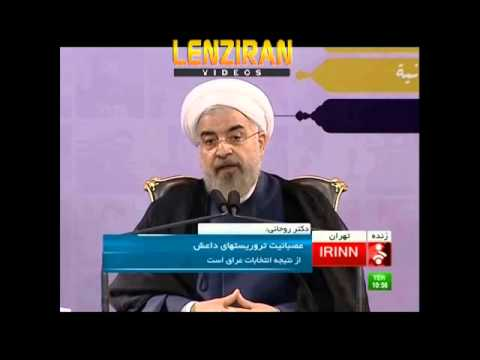 Hassan Rohani respond to Questions about assisting Iraq to fight  Daesh and cooperation with US
