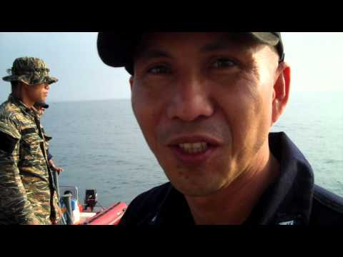 Navy Lt. Todio on sailing from Casiguran to Palanan.