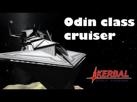 Kerbal Space Program - Odin Class Cruiser (viewer submitted)