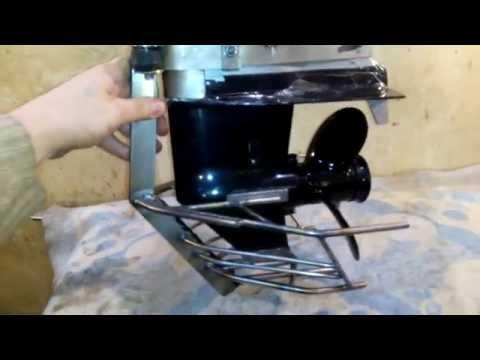 как сделать чехол на мотор лодочный мотор