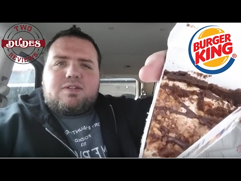 Burger King Snickers Pie Review - TDR Solo Review