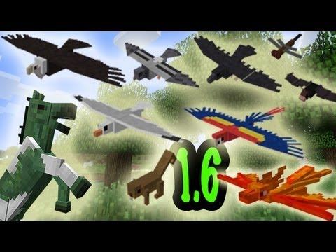 MineCraft 1.6 Community Speaks: Jungle Birds, Horse Mobs, Owls!
