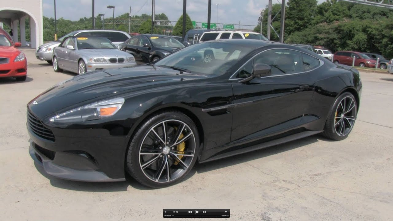 2014 Aston Martin Vanquish V12 Start Up Exhaust And In