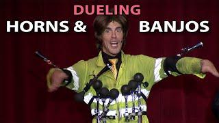 Dueling Horns and Banjos - AKA Deliverance like you've never seen it!
