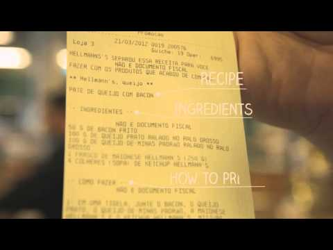 HELLMANN S RECIPE RECEIPT