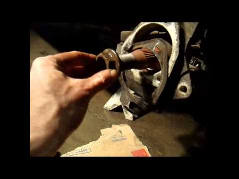 How to Fix and Replace a Hub Bearing Wheel Bearing Pontiac Aztek or Buick Rendezvous