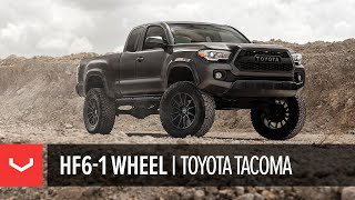 Vossen Hybrid Forged HF6-1 Wheel | Lifted Toyota Tacoma