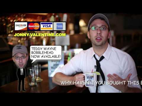 "Author Teddy Wayne Endorses ""The Love Song of Jonny Valentine"""