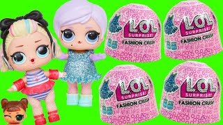 LOL Surprise Jelly ! Fashion Crush Dress Up + Blind Bags Under Wraps