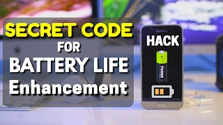 Entering This Code Will ENHANCE Your BATTERY Performance  !!!!! SECRET Code