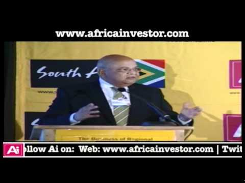 Honorable Minister Pravin Gordhan, Minister of Finance, Republic of South Africa, speaks at Africa investor, Brand South Africa 2012 Regional Integration Roundtable in Davos