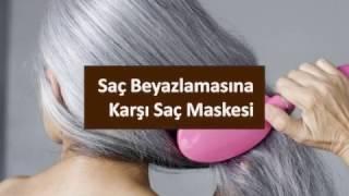 Saç Beyazlamasına Karşı Saç Maskesi