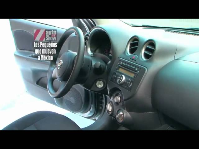 Chevrolet Spark contra el Nissan March - YouTube