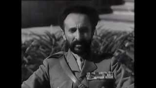 "Emperor Haile Selassie of Ethiopia Speech - ""David Will Still Beat Goliath"" ""ዳዊት አሁንም ጎልያን ያሸንፋል"