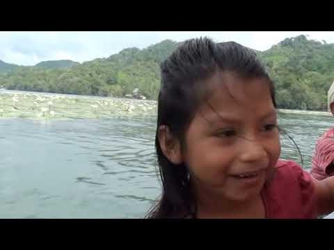Guatemala, Le Rio Dulce, de Livingston au Lac Izabal.