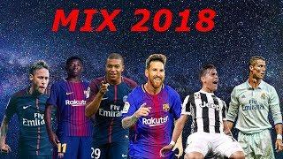 BEST FOOTBALL MIX 2018 MESSI RONALDO NEYMAR MBAPPE MORE !!