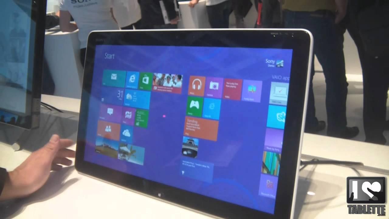 Sony vaio tap 20 vaio duo 11 tablette g ante 20pouces - Comparatif tablette 8 pouces ...